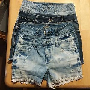 4 X $10 Girl's Shorts